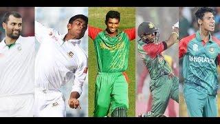 ইএসপিএন ক্রিকইনফোর বর্ষসেরা পুরস্কারের তালিকায় ৫ বাংলাদেশি | Bangladesh Cricket