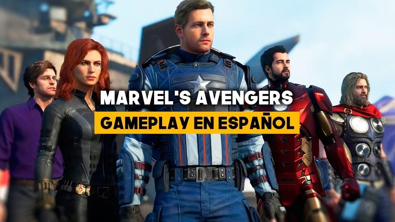 marvel's avengers presenta al capitán américa en un nuevo