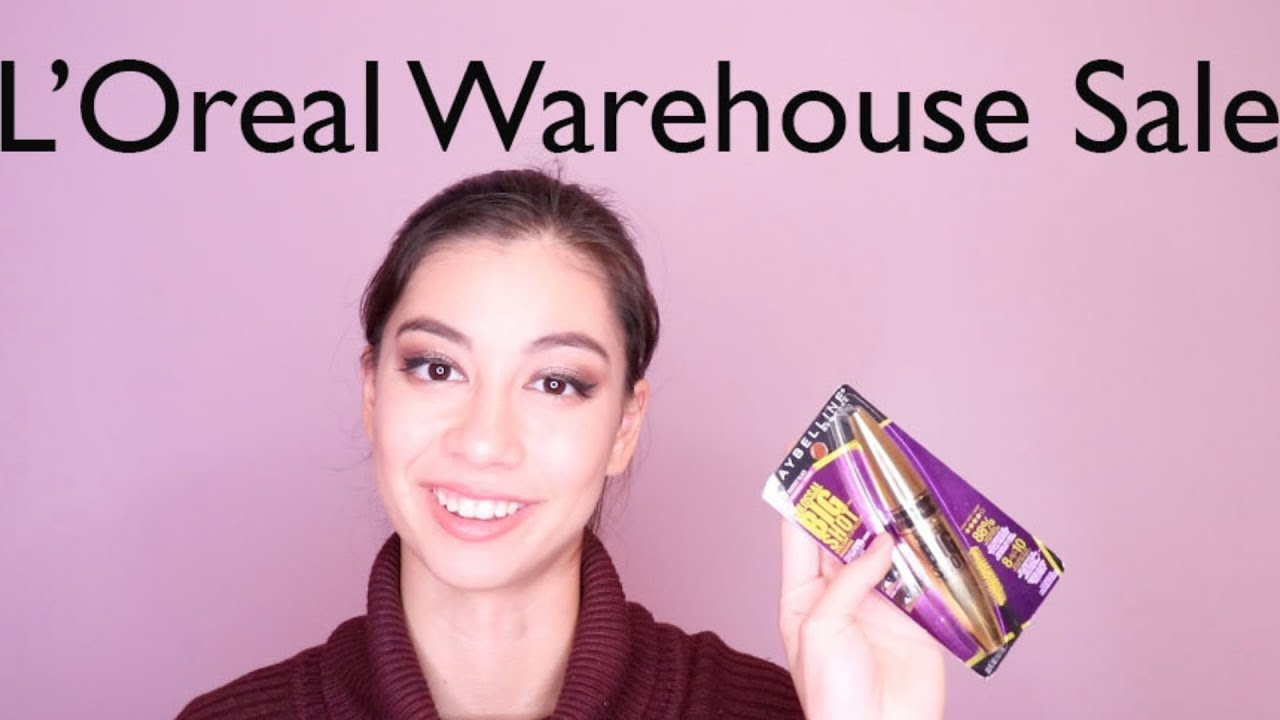 Image result for L'Oreal  Warehouse Sale Fall 2019 ьщтекуфд