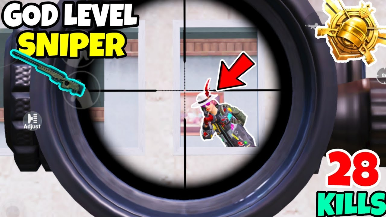 I Met A GOD Level Sniper Against Me in PUBG Mobile • (28 KILLS) • PUBGM (HINDI)