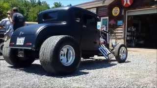 2014 Heavy Rebel Weekender Car Show w/ 89 Speed Shop ( Rat Rods )