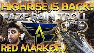 Highrise BACK in Advanced Warfare, MarkofJ Joins Red, FaZe Rain Trolls Apex & MORE - Red Scarce