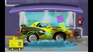 Games for kids | Auto Car Wash Garage