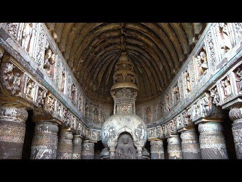 Ajanta Caves, Maharashtra, India in 4K Ultra HD