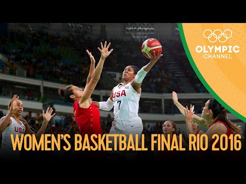USA 🆚 Spain - Women's Basketball Gold Medal Match | Rio 2016 Replays