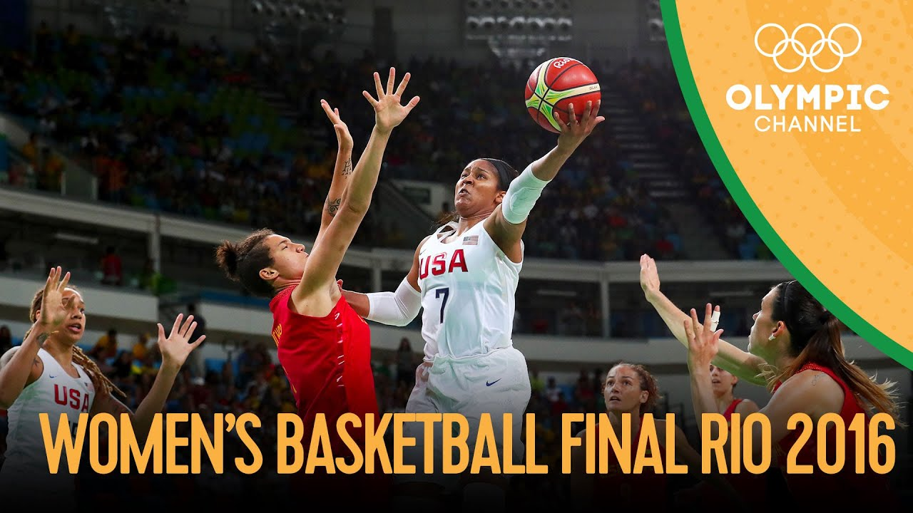 Download USA 🆚 Spain - Women's Basketball Gold Medal Match | Rio 2016 Replays