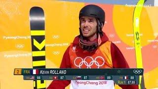 JO 2018 : Ski acrobatique - Half-pipe hommes : Kévin Rolland dans le coup