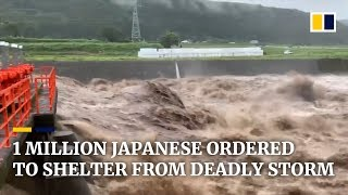 Japan orders 1 million to evacuate as monster storm approaches