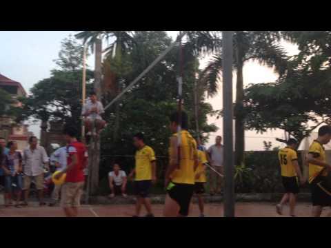 Chung Kết giải bóng chuyền hơi nam Thôn Thanh Huệ Đình