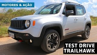 Jeep Renegade Trailhawk | Review | Test Drive | motoreseacao