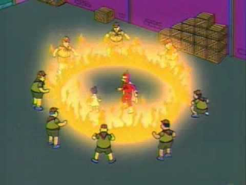 Radioactive man vs the scout master