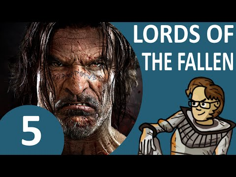Let's Play Lords of the Fallen Part 5 - Find Kaslo, Qamar Staff, Last Night (Deception Rogue)