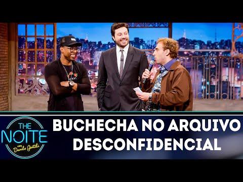 Arquivo desconfidencial com Buchecha | The Noite (16/08/18)