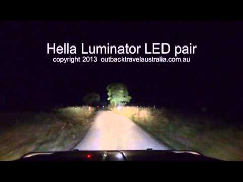 hella luminator led driving lights allan whiting. Black Bedroom Furniture Sets. Home Design Ideas