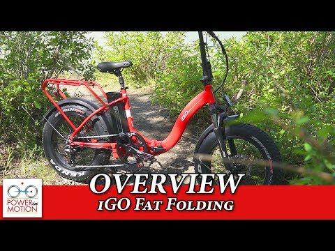iGO Electric Fat Folding Bike Overview - Calgary, Alberta | eBike Calgary | electric bike Calgary
