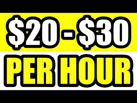 $20 - $30/HR 3 Real Online Jobs That Pay You To Work From Home