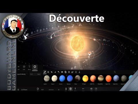 Universe Sandbox - Découverte D'un Jeu De Simulation de Planète dans L'univers - 1080p60fps
