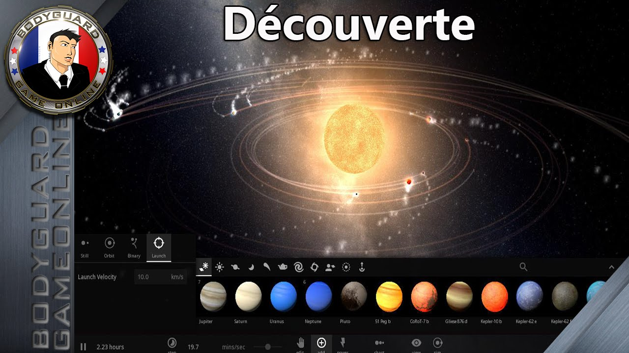universe sandbox d couverte d 39 un jeu de simulation de plan te dans l 39 univers 1080p60fps. Black Bedroom Furniture Sets. Home Design Ideas