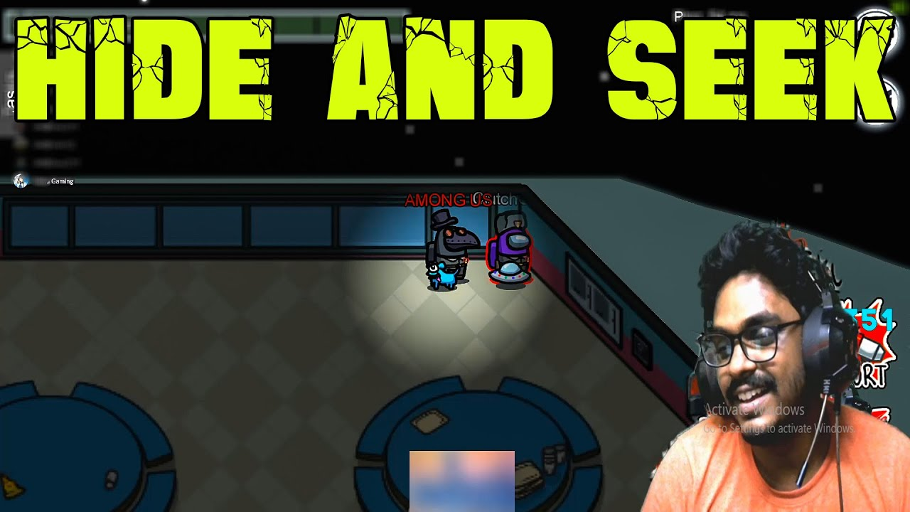 Download Hide And Seek On Among Us - Vera Level Fun