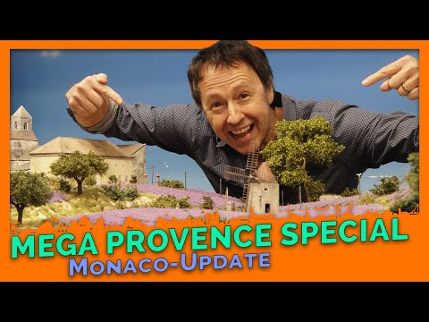 NEXT-LEVEL Model building: The great Provence Special - Monaco-Update # 2 - Miniatur Wunderland