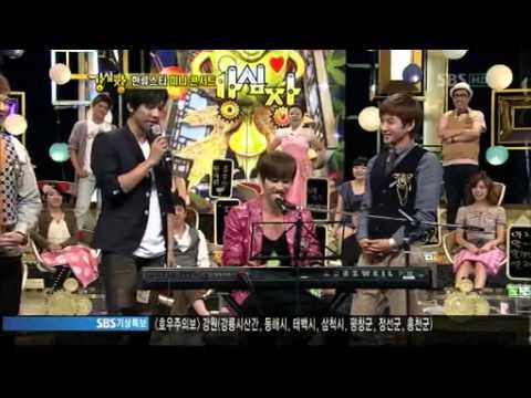 KSJ Lee Seung Gi & Eun Hyuk Singing