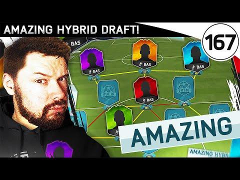 AMAZING HYBRID DRAFT! - FUT DRAFT TO GLORY #167