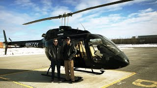 Flying a Brand New Bell 505 - Canada to Brazil!
