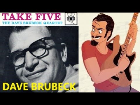 Dave Brubeck - Take Five BASS COVER by FFKING