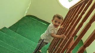 🔥مراد يطلع الدرج واقف🔥