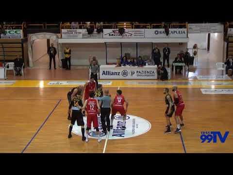 Incontro Allianz Pazienza Cestistica San Severo - Campli Basket