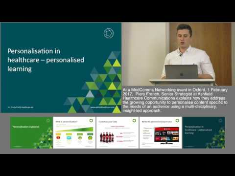 Improving Lives: The Future Of Personalisation In Healthcare Communications