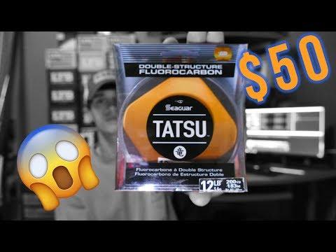 $50 FISHING LINE? Seaguar Tatsu, Is It Worth It?