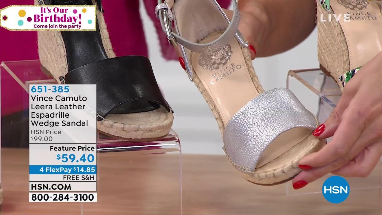 644f111f864 Vince Camuto Leera Leather Espadrille Wedge Sandal