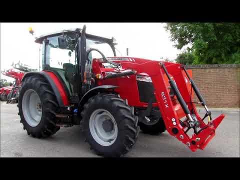 MASSEY FERGUSON 4709 & 931X LOADER WALKROUND VIDEO