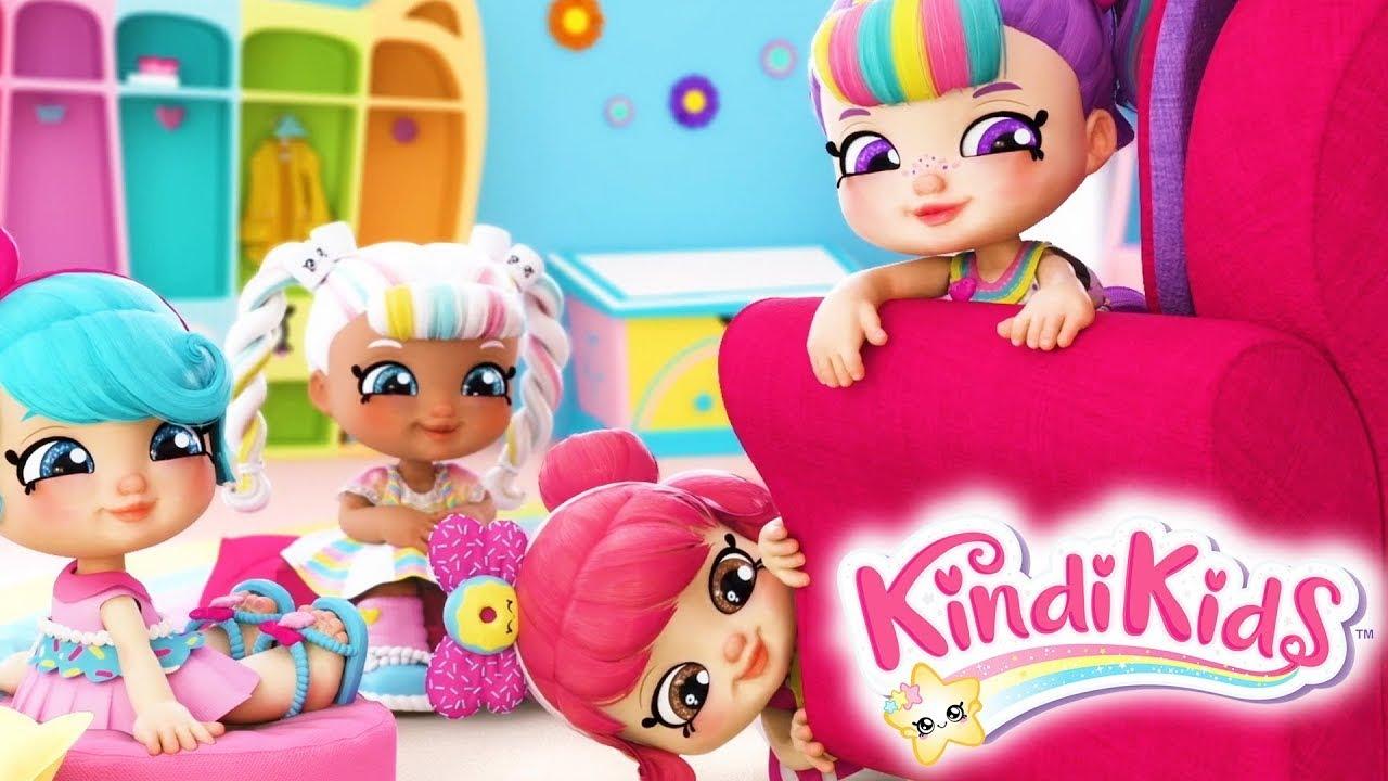 Кинди Кидс | Палатка - 10 серия | Веселый мультфильм для девочек | Kedoo мультики