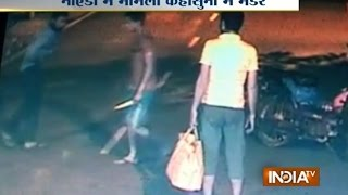 CCTV Footage: Man Stabbed to Death in Knife Attack at Noida, UP - India TV