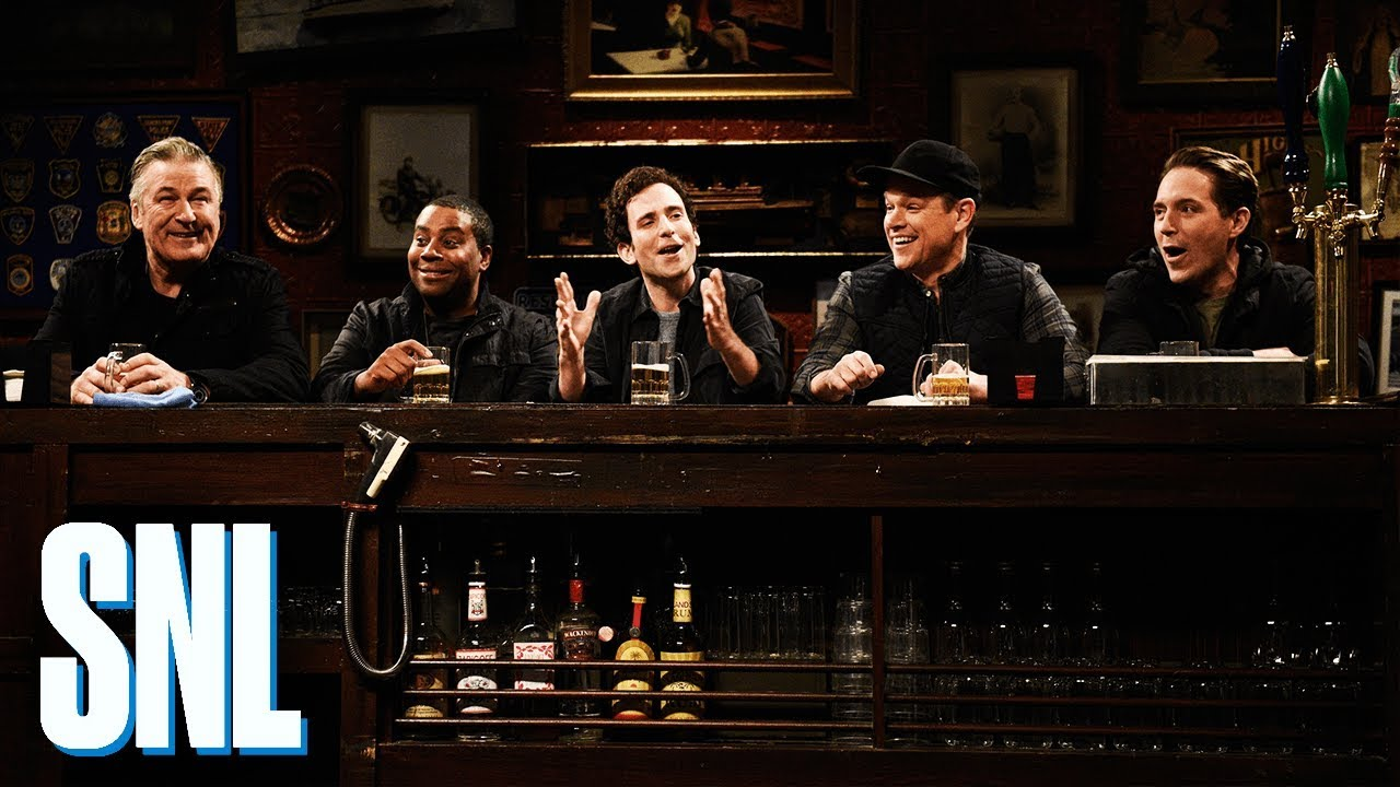 Best Christmas Ever Snl.Matt Damon Helps Saturday Night Live End 2018 On A Warm And