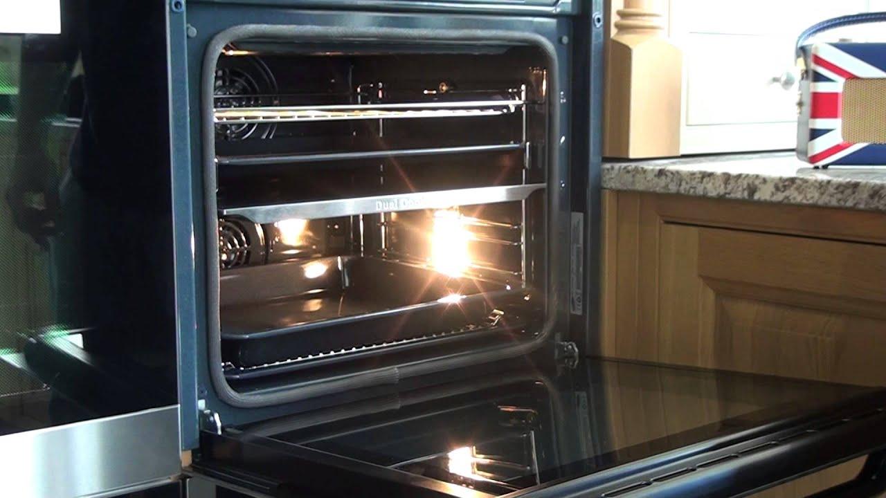 samsung nv70f7796es single oven with dual cook youtube. Black Bedroom Furniture Sets. Home Design Ideas