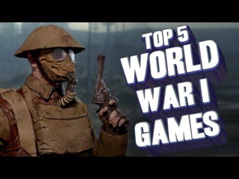 Top 5 - World War 1 Games
