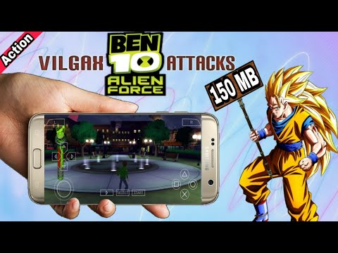 (150mb), Ben 10 Alien Force Vilgax Attack Highly Compressed Download On Android For Ppsspp Game