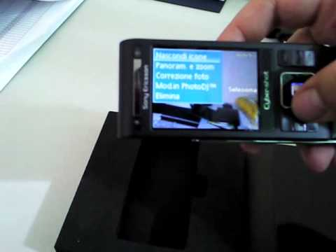Sony Ericsson C905 Cyber-Shot Unboxing and Vs Blackberry 9000 Bold