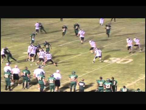 Jason Ware QB: Mineral Springs vs Mount Ida 2010