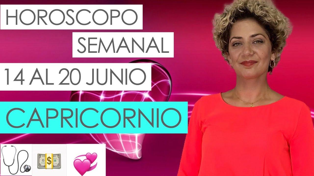 CAPRICORNIO ♑ | HOROSCOPO SEMANAL | 14 AL 20 JUNIO | CARTA DEL ANGEL