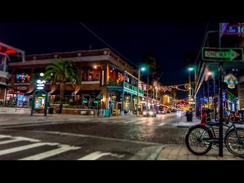 Ybor City Lights 7th Ave