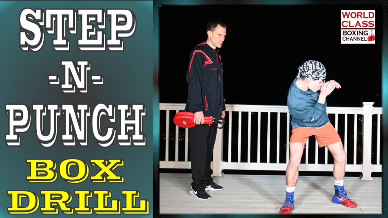 Master the Step and Punch Using A Box Drill