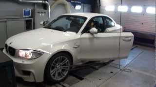 bmw 1 series m coupe stock 346 hp 507 nm dyno run at beek auto racing