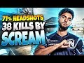 CS:GO - ScreaM 38 frags (71% Headshots) on Cache @ FACEIT