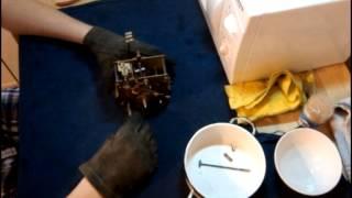 видео ремонт старых часов