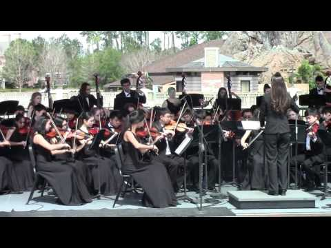 2016 Dublin Jerome High School Orchestra Disney Performance