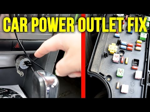 [SCHEMATICS_4CA]  How To Fix The Power Outlet Or Cigarette Lighter in Your Car (2008 Dodge  Avenger) - YouTube | 2008 Dodge Avenger Fuse Box Location |  | YouTube